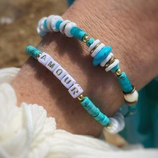 Beauty Phone Bracelet Amour Turquoise
