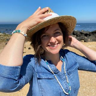 Gwen cofounder costume jewellery by Bleu Emeraude