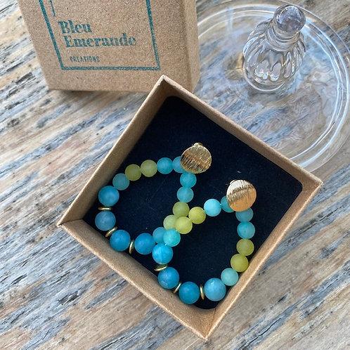 Earrings - Oceane colourful