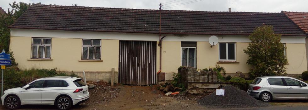 Realizovaný projekt rekonstrukce rodinného domu v Heralticích.