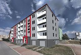 Regenerace bytového domu Náměšť nad Oslavou - Generála Mrázka