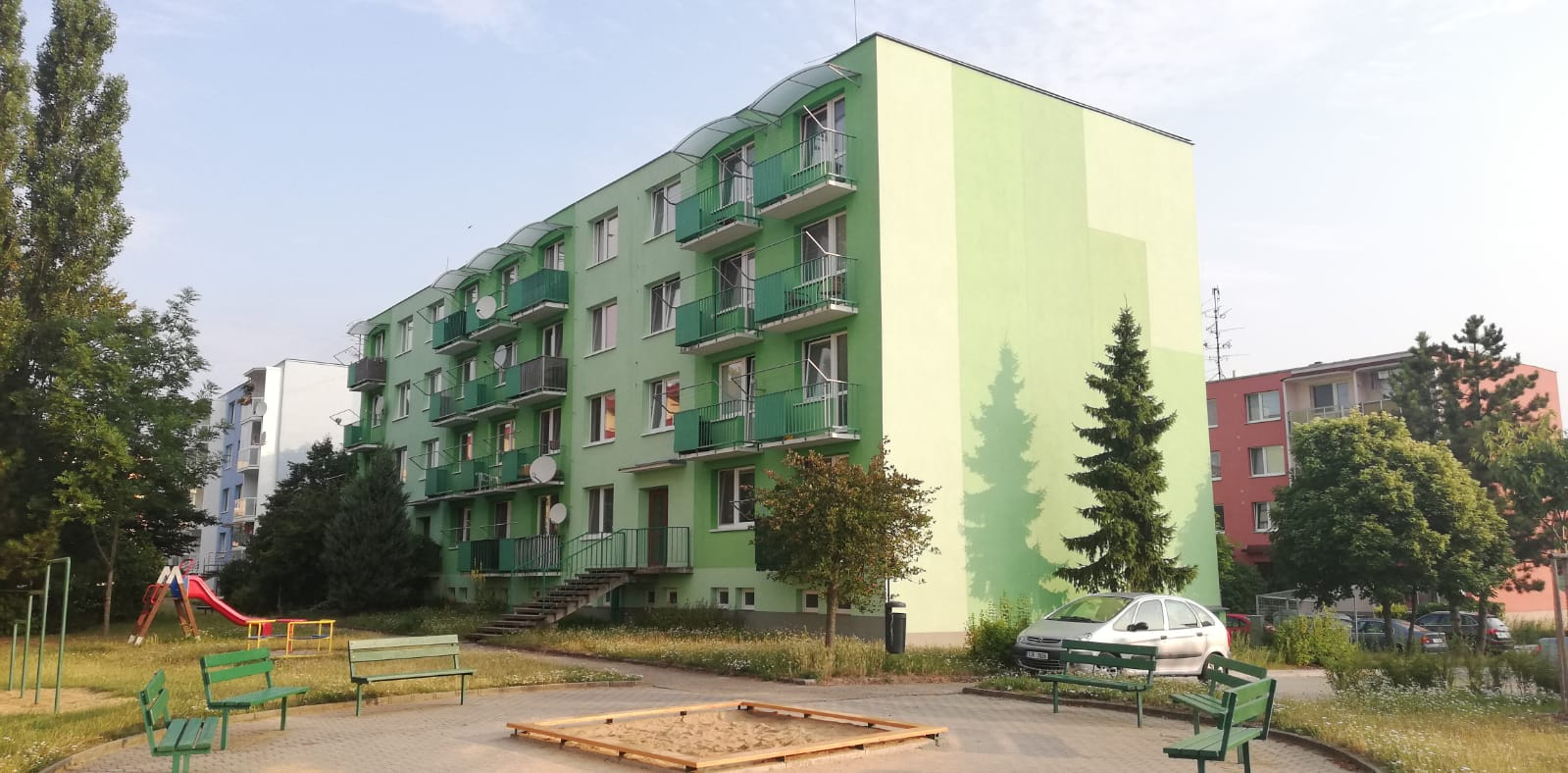 Nové ŽB lodžie pro BD Náměšť nad Osl