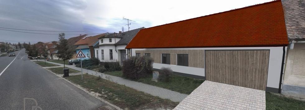 Realizovaný projekt rekonstrukce rodinného domu v Rouchovanech