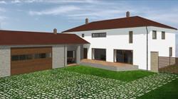 Rekonstrukce rodinného domu a hospod