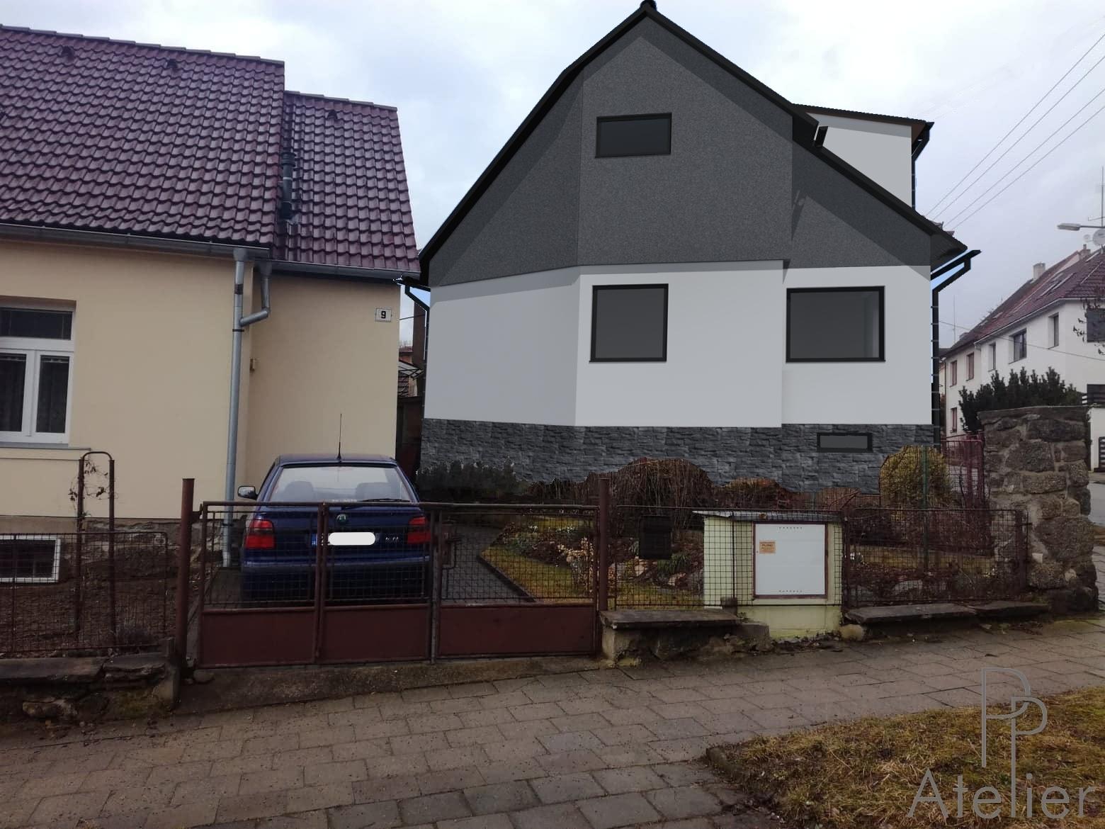 Rekonstrukce rodinného domu Třebíč -