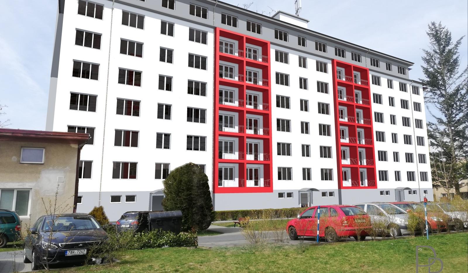 Regenerace bytového domu Třebíč, Demlova