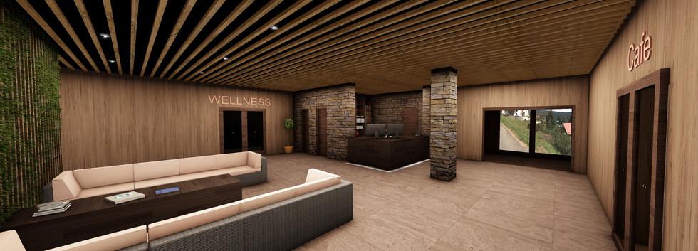Multifunkční apartmánový resort v Peci p. Sněžkou