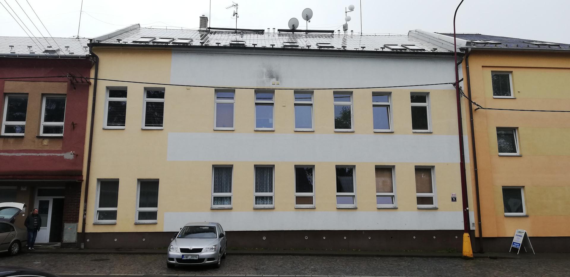 Revitalizace bytového domu Svitavy