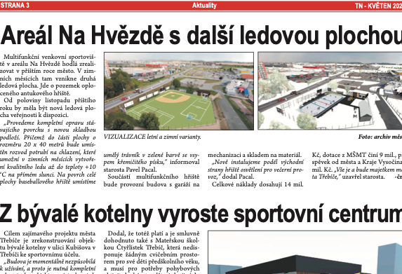 4lánek Třebíčské noviny