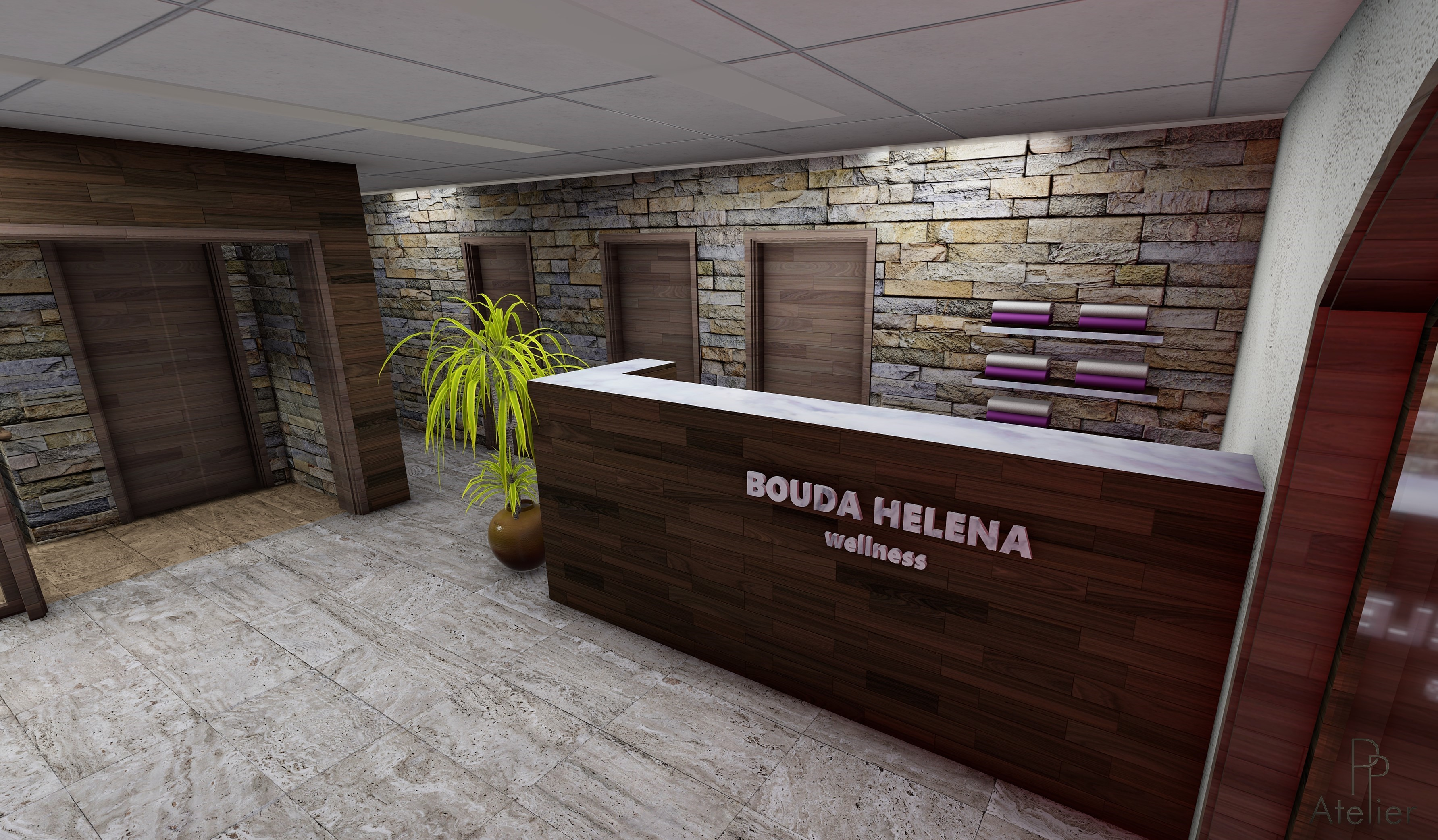 Wellness - Bouda Helena Krkonoše - PP at