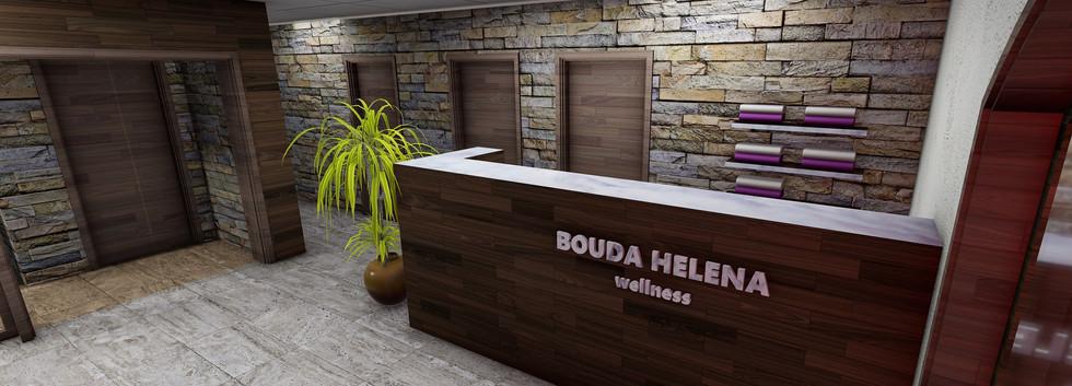 Projekt wellness - Bouda Helena Krkonoše