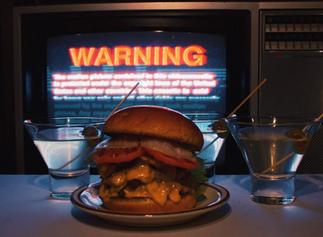 Burger and Martini 🍸