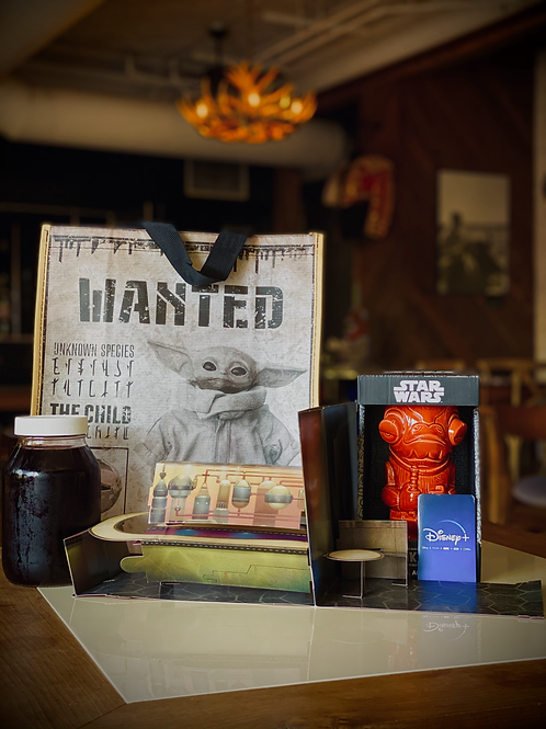 ACKBAR SANGRIA SWAG BAG - BAR FAR, FAR AWAY COLLECTION