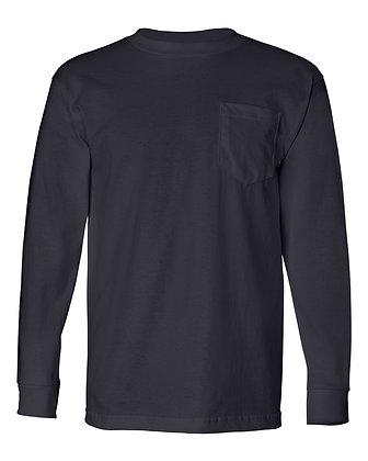 Bayside 100% Cotton L/S T-Shirt