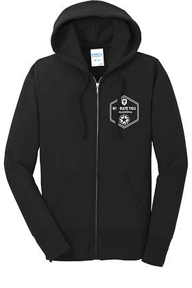copy of Port & Co Ladies Core Fleece Full-Zip Hooded Sweatshirt