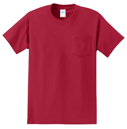 Port & Co 100% Cotton Tee- Tall