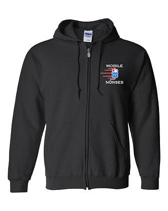 Gildan Full-Zip Hooded Sweatshirt