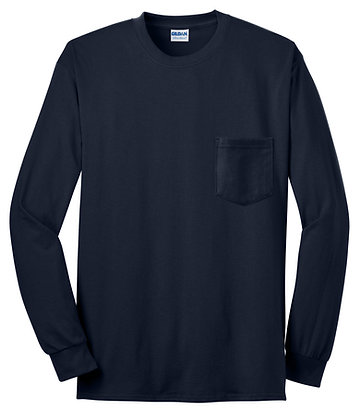 Gildan 100% Cotton L/S T-Shirt