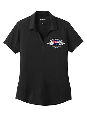 Sport-Tek Ladies Tri-Blend Wicking Polo