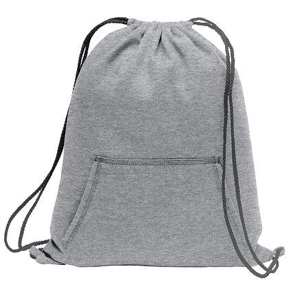 Port & Co Fleece Sweatshirt Cinch Pack