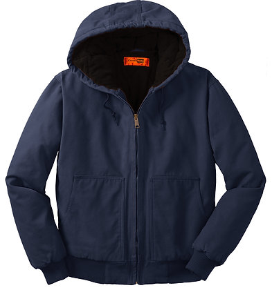 CornerStone Duck Cloth Insulated Hooded Jacket