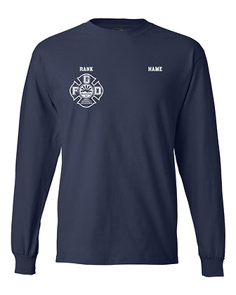 Hanes Beefy-T 100% Cotton L/S T-Shirt