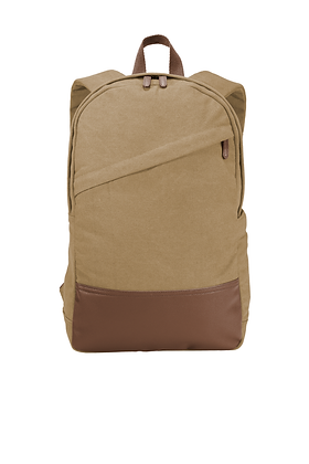 Port Authority Cotton Canvas Backpack
