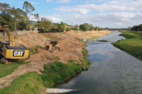 Barker Watershed Sediment Removal Program for the Harris County Flood Control District