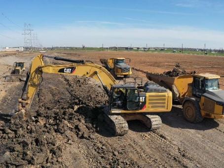 Construction of Sierra Vista Detention Improvements Phase IV