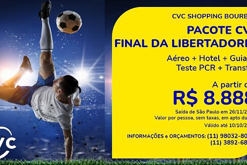 Pacote Final da Libertadores Montevidéu