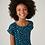 Thumbnail: Vestido Infantil Evasê Midi Estampado Mini Me