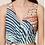 Thumbnail: Vestido Longo Assimétrico Abstrato