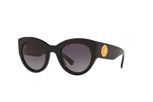 Óculos de Sol Versace Acetato Preto