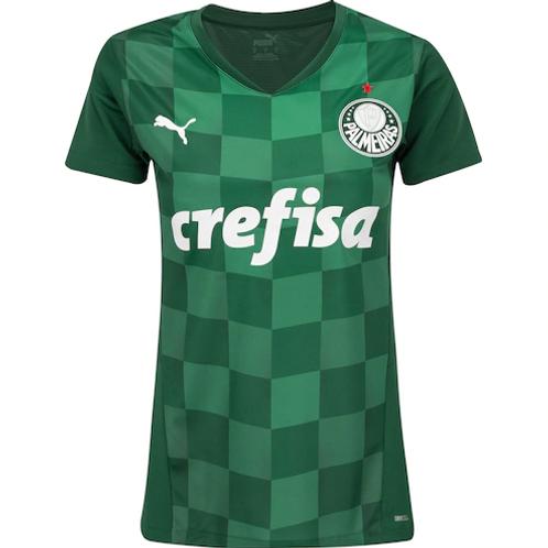 Camisa do Palmeiras I 2021 Puma Feminina