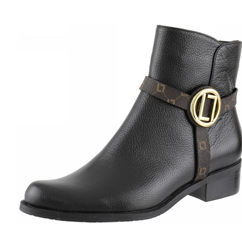 Bota Cano Curto New Ridge Preto