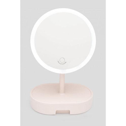 Espelho de Mesa Com LED Visualizada