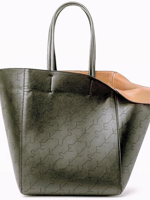Bolsa Shopping Bag Dupla Face Ellus