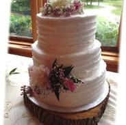 rustic white wedding cake laura - Copy.j
