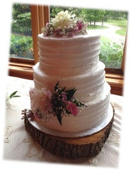 rustic white wedding cake laura - Copy.j