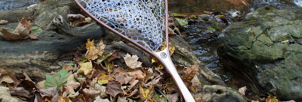 steelhead net, steelhead landing net, atlantic salmon net, atlantic salmon landing net, spey fishing net, sea run net