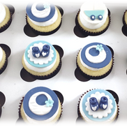 boy baby shower cupcakes 3d booties.png