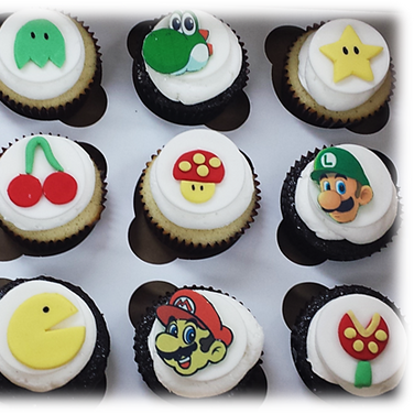 mario and pacman cupcakes.png