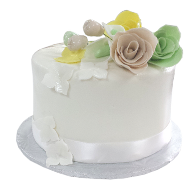 mint green and cream wedding cake top.pn