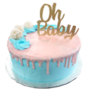 gold oh baby topper cake.png