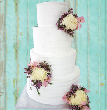 rustic wedding cake rustic flowers 2.png