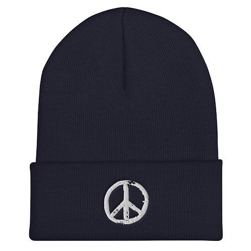 PEACE | Cuffed Beanie