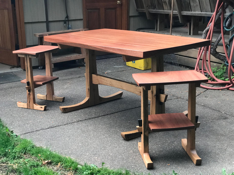 Madrone tables - sold