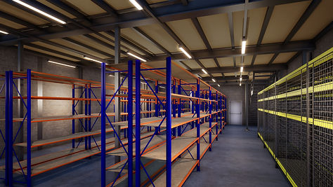3D Visualisation of industrial racking