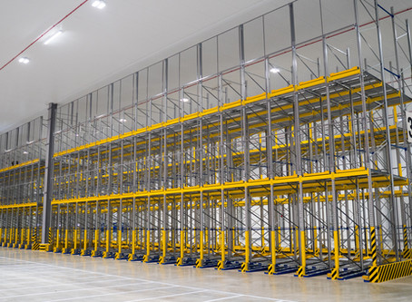See it for yourself! A virtual 360° tour of our tallest Roller Racking yet! 🙌