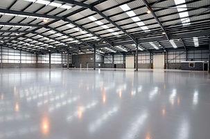 warehouse flooring installation